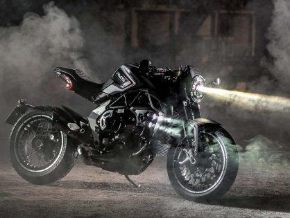 Limitált kiadású szörnyeteg - MV Agusta RVS#1