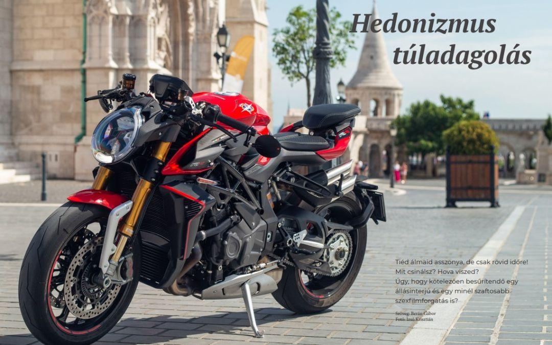 Mv Agusta Brutale 1000RR Teszt a Superbike-nál