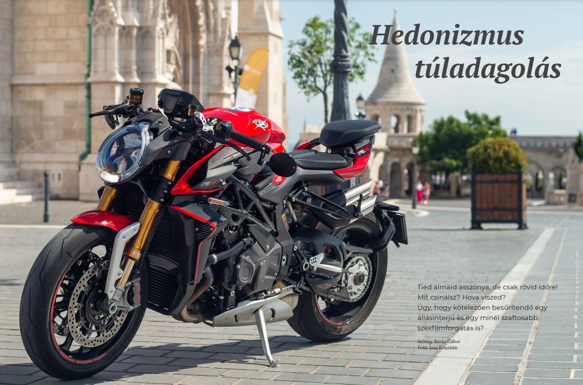 Megjelent a Superbike magazin Brutale 1000RR cikke
